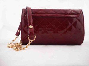 8d69f7a5c1 Τσάντα φάκελος Μπορντώ λουστρίνι - Hunter Accessories