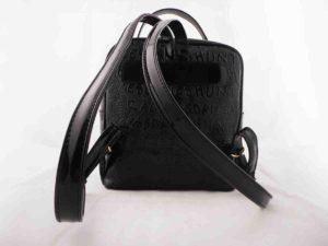 Τσάντα πλάτης Μαύρη (τετράγωνη) - Hunter Accessories 76051797bb2