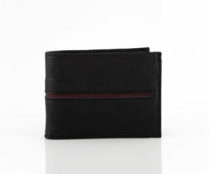Ανδρικό πορτοφόλι Μαύρο