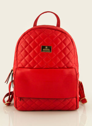 9ed570e1f1 Basic Quilted Backpack Bag. NEW. Hunter 54001670 red1 Hunter 54001670 red2