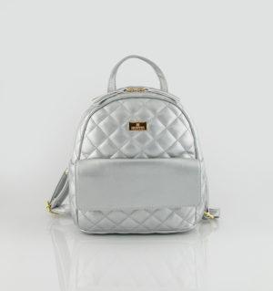 d0ea92dff4 Basic Quilted Backpack Bag. NEW. Hunter 54001672 silver1  Hunter 54001672 silver2