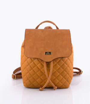 Basic quilted backpack bucket Ταμπά