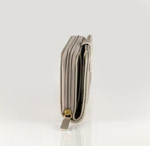 1fb9a70c72 Allday μικρό γυναικείο πορτοφόλι Ασημί - Hunter Accessories