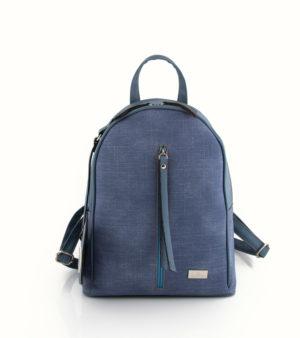 Jeans backpack (μεσαίο) Σιέλ