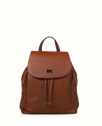 Γυναικεία τσάντα πλάτης δερμάτινη Ταμπά