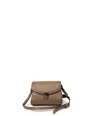 Γυναικεία δερμάτινη τσάντα χιαστί Πούρο
