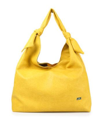 Γυναικεία τσάντα ώμου hobo SP Κίτρινο