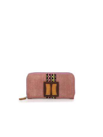 Γυναικείο πορτοφόλι MJ Ροζ