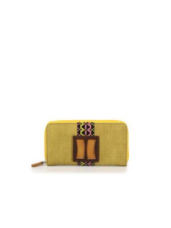 Γυναικείο πορτοφόλι MJ Κίτρινο