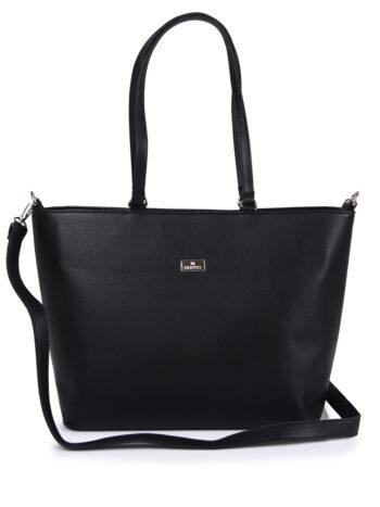 Γυναικεία τσάντα ώμου Basic Μαύρο