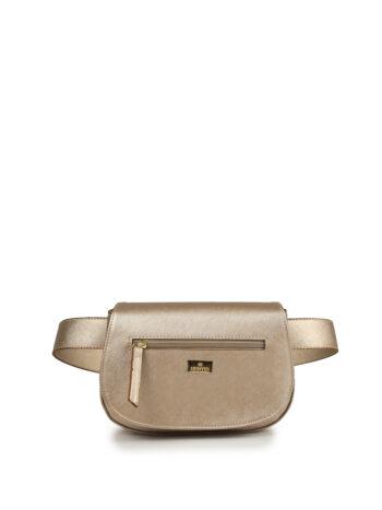 Γυναικεία τσάντα μέσης oval F Χρυσό