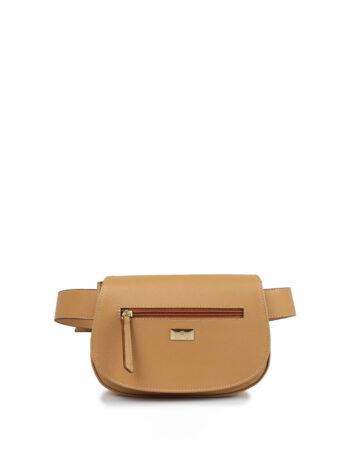 Γυναικεία τσάντα μέσης oval F Ταμπά