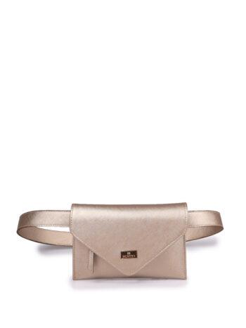 Γυναικεία τσάντα μέσης envelope F Χρυσό