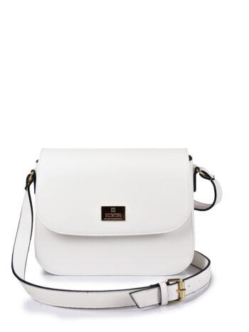 Γυναικεία τσάντα χιαστί GC Λευκό
