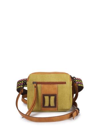 Γυναικεία τσάντα μέσης MJ Κίτρινο