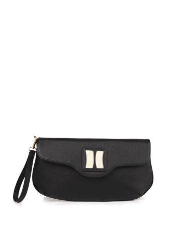 Γυναικεία τσάντα φάκελος F Μαύρο