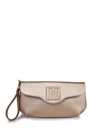 Γυναικεία τσάντα φάκελος F Χρυσό