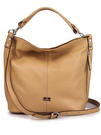 Γυναικεία τσάντα δερμάτινη shoulder bag Ταμπά