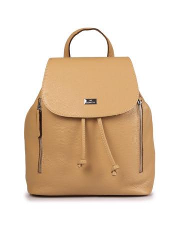 Γυναικεία δερμάτινη τσάντα πλάτης Ταμπά