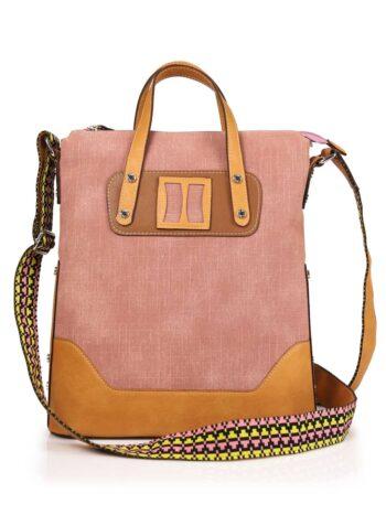 Γυναικεία τσάντα ώμου MJ Ροζ