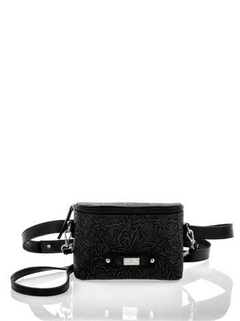 Γυναικεία τσάντα μέσης Athena Μαύρο