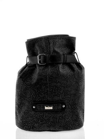 Γυναικεία τσάντα bucket Athena Μαύρο