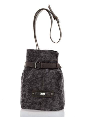 Γυναικεία τσάντα bucket Athena Καφέ