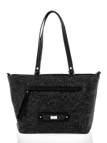 Γυναικεία τσάντα ώμου Athena Μαύρο
