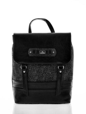 Γυναικεία τσάντα σακίδιο πλάτης Athena Μαύρο