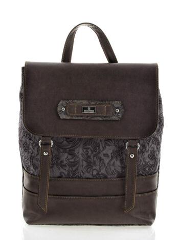 Γυναικεία τσάντα σακίδιο πλάτης Athena Καφέ