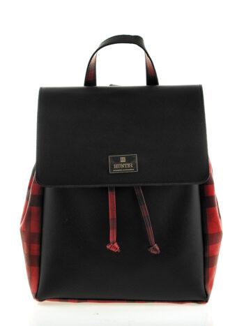 Γυναικεία τσάντα πλάτης Iris Μαύρο