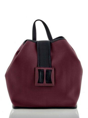 Γυναικεία τσάντα πλάτης Penelope Μπορντώ