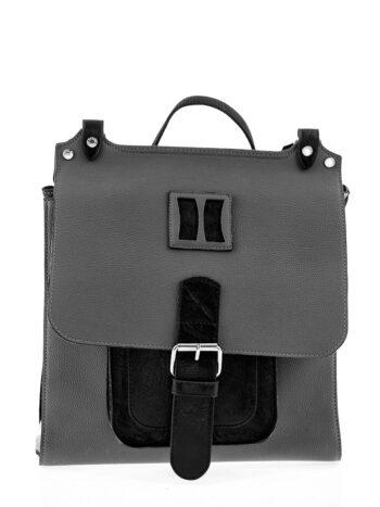 Γυναικεία τσάντα πλάτης-σακίδιο Penelope Γκρι
