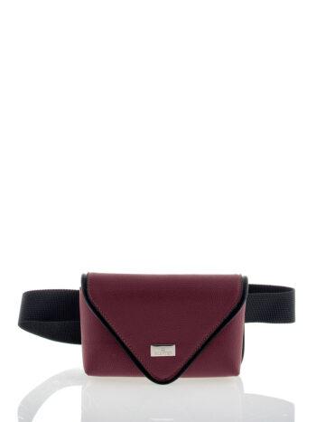Γυναικεία τσάντα μέσης Penelope Μπορντώ