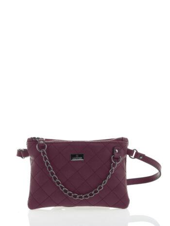 Γυναικεία τσάντα μέσης Ariadne Μπορντώ