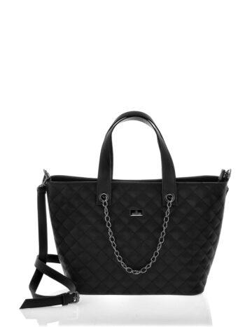Γυναικεία τσάντα tote Ariadne Μαύρο