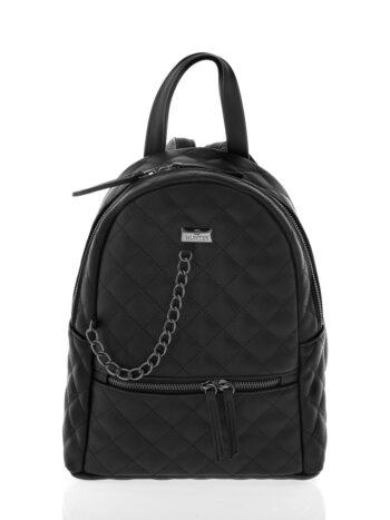 Γυναικεία τσάντα πλάτης μεσαία Ariadne Μαύρο