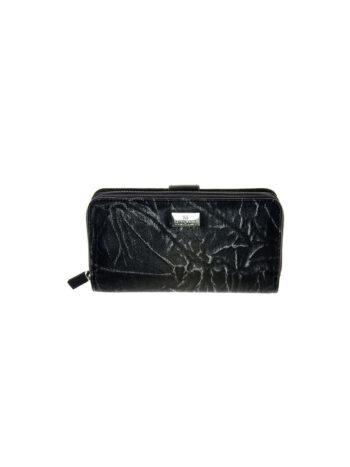 Γυναικείο πορτοφόλι με επέκταση Hera Μαύρο