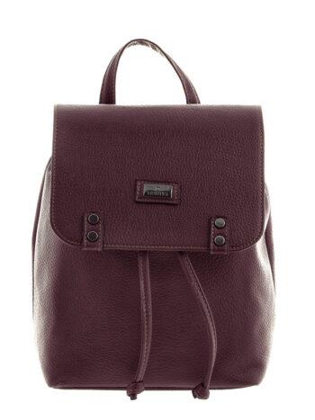 Γυναικεία τσάντα πλάτης bucket Rea Μπορντώ