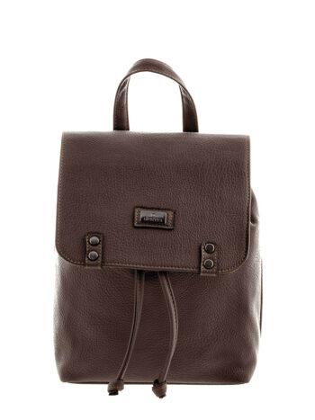 Γυναικεία τσάντα πλάτης bucket Rea Καφέ