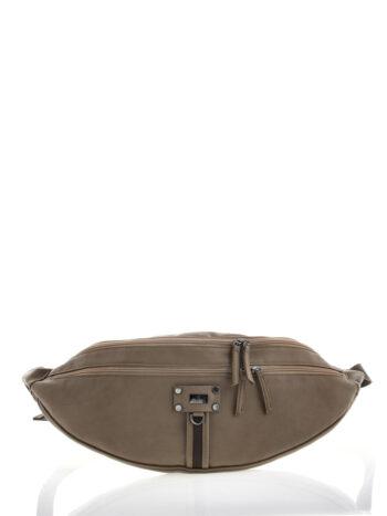 Γυναικεία τσάντα μέσης Themis Πούρο