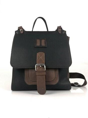 Γυναικεία τσάντα πλάτης-σακίδιο Penelope Μαύρο