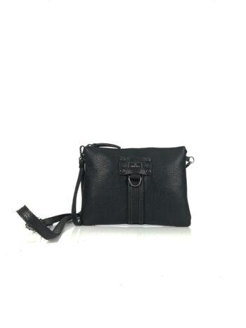 Γυναικεία τσάντα χειρός-χιαστί Themis Μαύρο