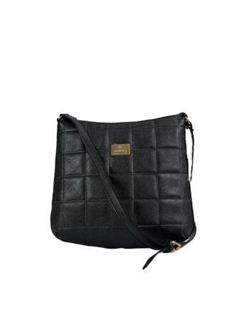 Γυναικεία τσάντα ταχυδρόμου Anemone Μαύρο