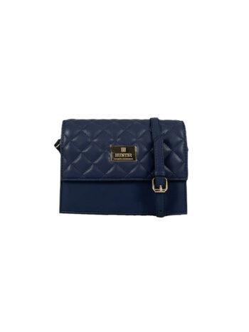 Γυναικεία τσάντα χιαστί flap Ariadne Μπλε