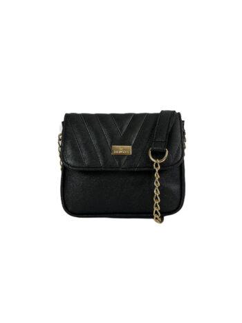 Γυναικεία τσάντα flap Camelia Μαύρο