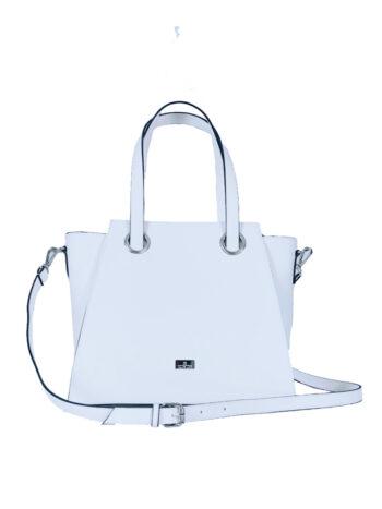 Γυναικεία τσάντα ώμου Elektra SS21 Λευκό