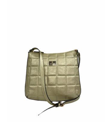 Γυναικεία τσάντα ταχυδρόμου Anemone Χρυσό