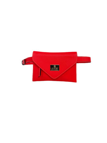 Γυναικεία τσάντα μέσης envelope Colori Κοραλί