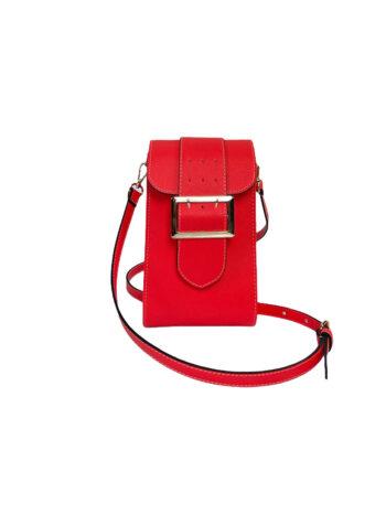Γυναικεία τσάντα χιαστί Colori Κοραλί